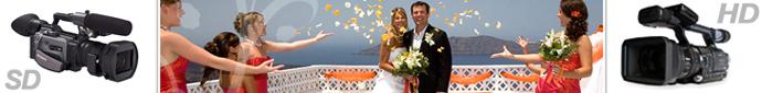 Видеозаснемане на сватба в Бургас