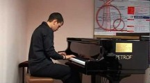 Майсторския клас по пиано воден от Проф. Иван Дончев