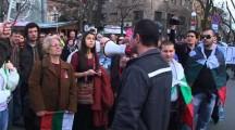 Протестно шествие в Бургас