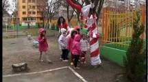 Баба Марта в Детска градина Златното ключе – Бургас